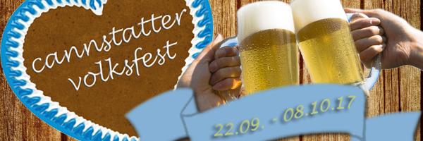 Volksfeststimmung in Stuttgart